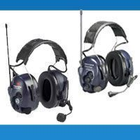 Radio headsets - built-in radio